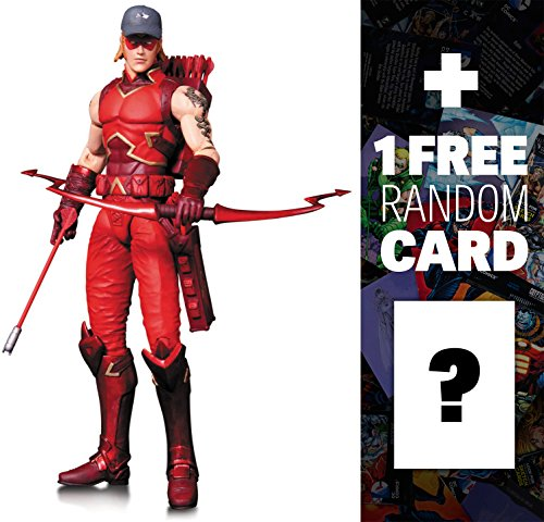 """Arsenal: ~6.75"""" DC Collectibles The New 52 Action Figures Series + 1 FREE Official DC Trading Card Bundle"""