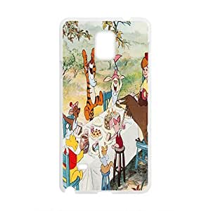 Happy Winnie the pooh Case Cover For samsung galaxy Note4 Case