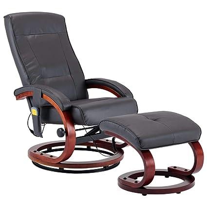 Poltrone Relax Massaggio Prezzi.Vidaxl Poltrona Relax Massaggiante 10 Punti Massaggio Reclinabile