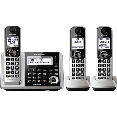 Panasonic KX-TGF373S DECT 3-Handset Landline Telephone (Renewed) (Phones Cordless Panasonic 2015)