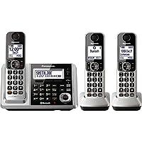 Panasonic KX-TGF373S DECT 3-Handset Landline Telephone (Certified Refurbished)