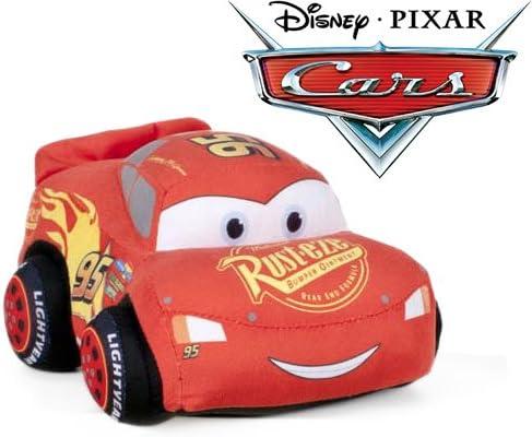 Cars - Peluche coche rojo Rayo McQueen 24cm Calidad super soft
