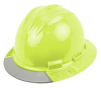 Bullard Hi-Viz Yellow AboveView HDPE Full Brim Hard Hat With Flex-Gear 4 8dc6d330e