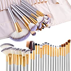 Make up Brushes, VANDER LIFE 24pcs Premi...