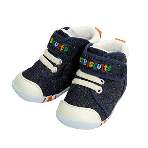 64c9fb5ddbf8b Mikihouse Hot Biscuits Baby Shoes 71-9301-977 5.5M(12.5cm) Blue