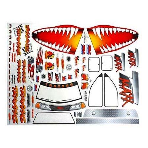 Traxxas T-Maxx 2.5 Jaws Decal Sheet - 4913X