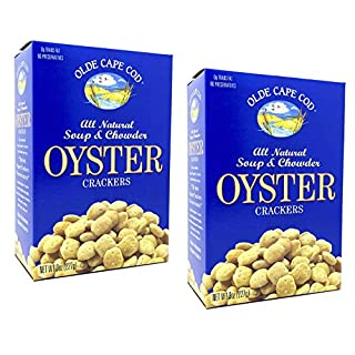 Olde Cape Cod Oyster Crackers, Soup & Chowder, Multi-Pack, 8 oz, (pack of 2)