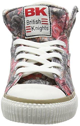 British Knights Dee Damen High-top Grau (dk Grijs-rood 26)