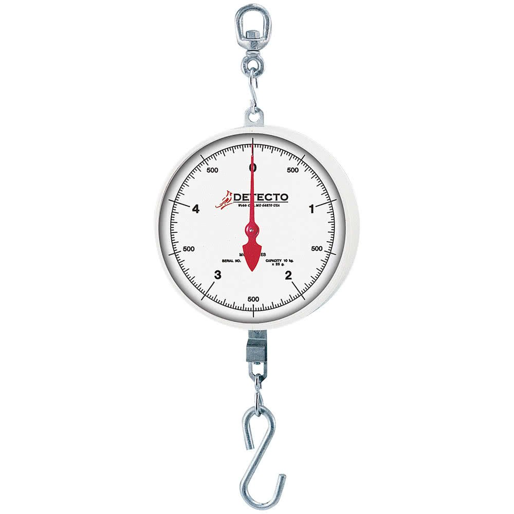 TableTop King MCS-20KGDH 20 kg. Hanging Hook Scale with Double Dial