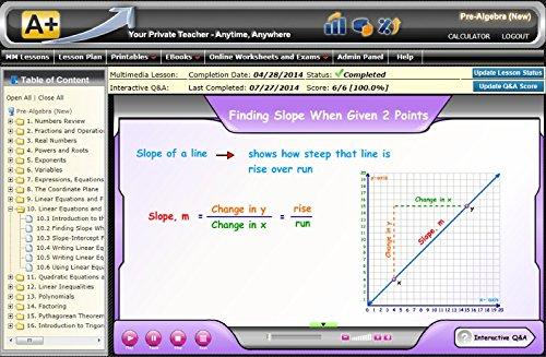 Amazon.com: Grades K1- Algebra 1 Interactive Math Curriculum ...