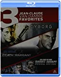 Jean-Claude Van Damme Triple Feature (Cyborg / Death Warrant / Double Impact) [Blu-ray]