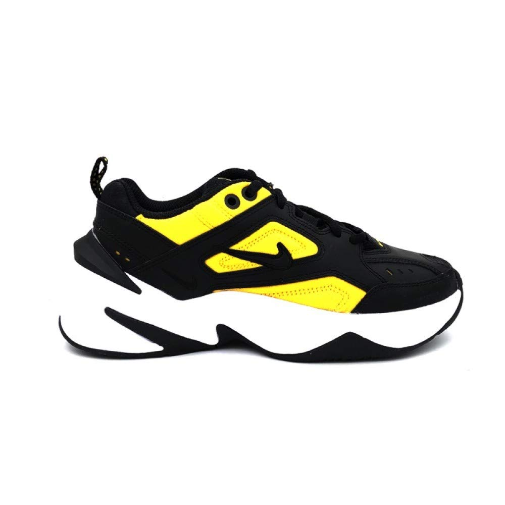 Nike W M2K Tekno Womens Sneakers AO3108-014, Black/Black-University Gold-White, Size US 9.5 by Nike