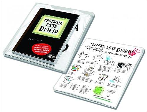 Pack Destroza este diario+camiseta Libros Singulares: Amazon.es: Smith, Keri: Libros