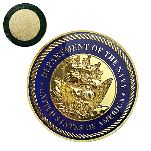 - United States Navy Car Emblem Military Auto Decal Sticker Commemorative Collection Gifts