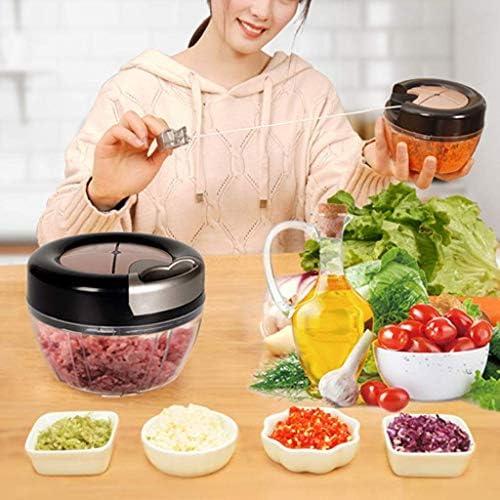 N/A XBSBS Cuisine Ail Artefact - Ménage Mini Portable Garlicizer Petit Alimentaire supplémentaire cassé légumes