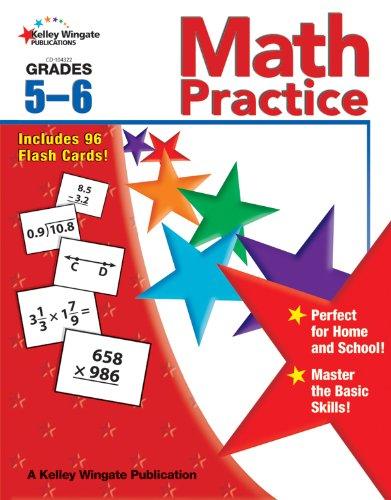 Math Practice, Grades 5 - 6 -