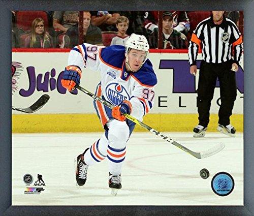 Connor McDavid Edmonton Oilers NHL Action Photo (Size: 12