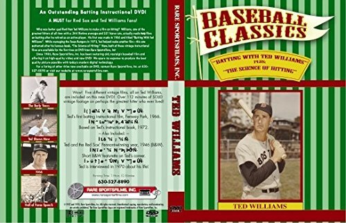Batting With Ted Williams and The Science of Hitting on DVD (Tigers Batting)