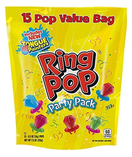 Bazooka Ring Pop Gusseted Bag, 7.50 Ounce
