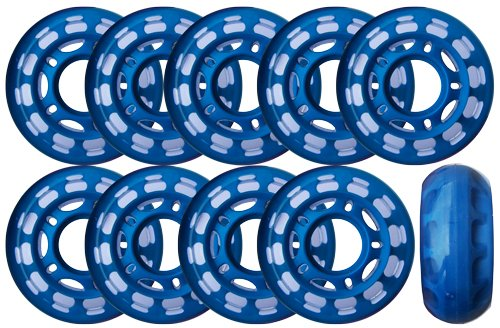 Roller Hockey Goalie Wheels Set Of 10 For Indoor Inline 78a Buy