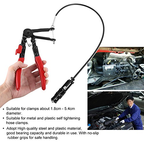 Flexible Wire Long Reach Hose Clamp Pliers Car Fuel Oil Water Hose Pliers by Walfront (Image #5)