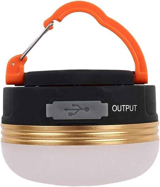 Linterna LED Luz De Camping USB Base Robusta Original Con ...