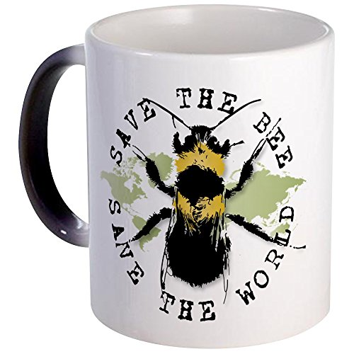 CafePress - Save The Bee... - Unique Coffee Mug, Coffee Cup