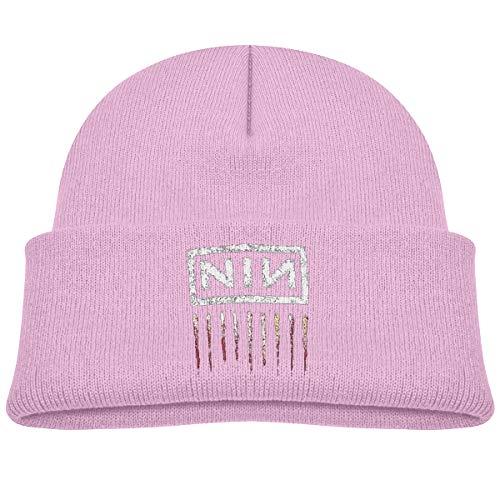 Hat Spiral Witch Pink - MUPTQWIU Nine Inch Nails Children's Beanie Hat Cap Beanie Cap Hat Ski Hat Cap Pink