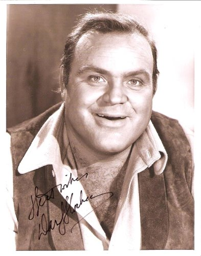 B&w 1972 Photo - DAN BLOCKER - Best Known for his Role as ERIC