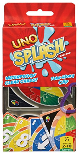 Mattel Games UNO Splash Card Game