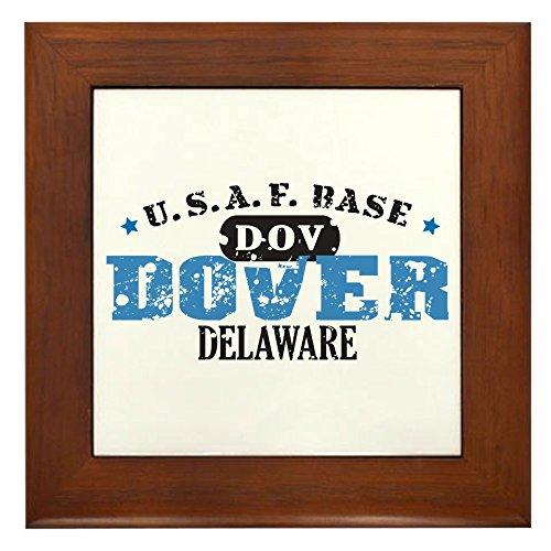 CafePress - Dover Air Force Base - Framed Tile, Decorative Tile Wall Hanging