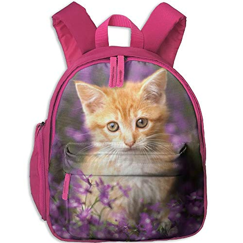 Ikejsne Orange Tabby Cat Kid's Mini Backpack Shoulder for sale  Delivered anywhere in USA