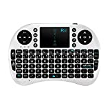 Rii 2.4G Mini i8 Wireless Keyboard with Touchpad for PC Pad Google Andriod TV Box Xbox360 PS3 HTPC/IPTV (White)