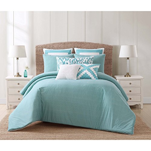 Oceanfront Resort Cs1961fq 1500 Cotton Comforter Set  Full Queen  Beach House Brights