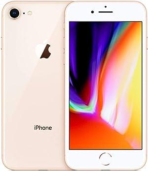Apple iPhone 8, 64GB, Gold - Fully Unlocked (Renewed)