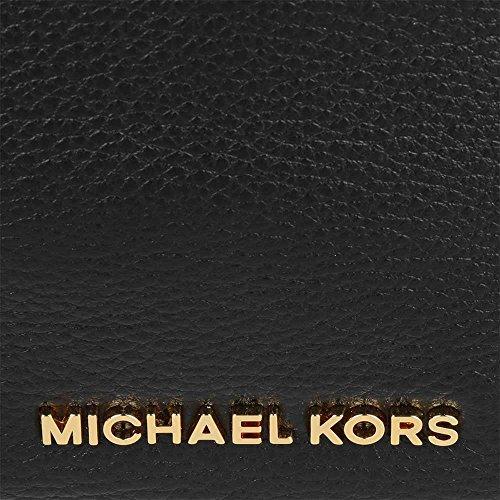 MICHAEL by Michael Kors Heidi Noir Medium Sac Bandouliere one size Noir