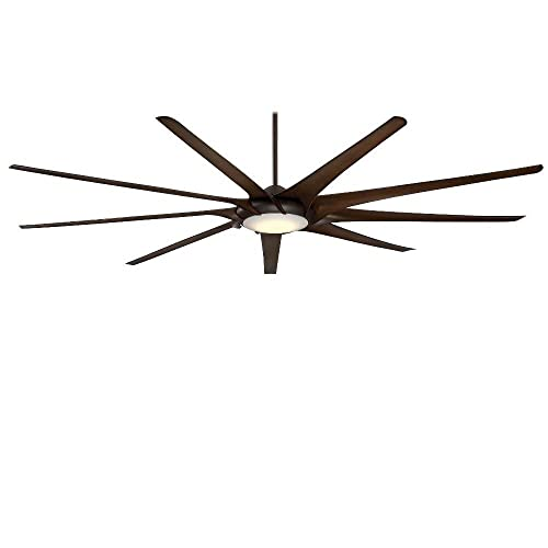 Minka-Aire F899L-ORB, 99 Ninety-Nine Ceiling fan with LED Light Kit, Oil Rubbed Bronze Finish with 9 blades