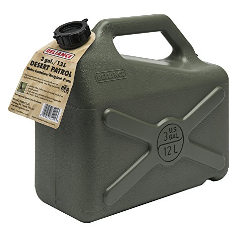 3 Gallon Water (Reliance Products Desert Patrol 3 Gallon Rigid Water Container)