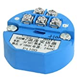 eDealMax PT100 trasmettitore di temperatura sensore -50-50C uscita 0-10 V DC