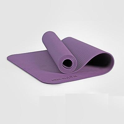 Tapis de yoga, débutant Thick antidérapant Tapis de fitness insipide Allonger Thicken Yoga couverture ( Couleur : #5 , taille : 8mm )