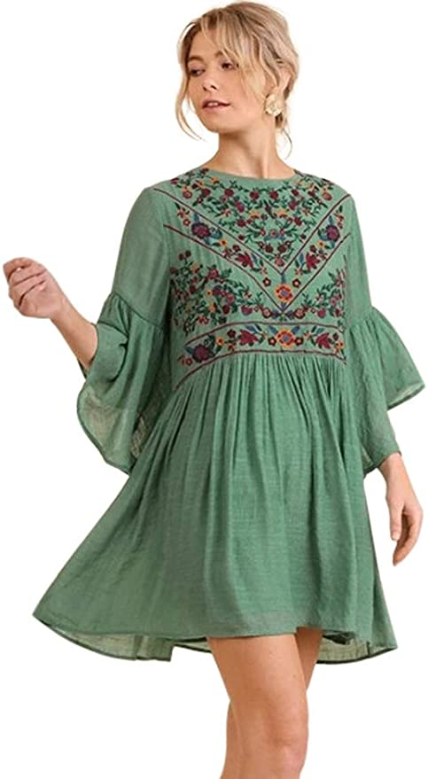 Cottagecore Dresses Aesthetic, Granny, Vintage Umgee Boho Bliss! $52.22 AT vintagedancer.com