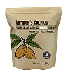 Amazon.com : Almond Flour Blanched Culinary Grade (5lb) by