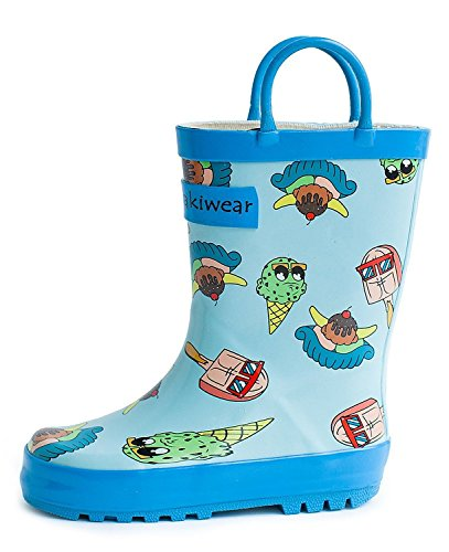 Children's Rubber Rain Boots, Ice Cream (8 Toddler, Ice Cream)
