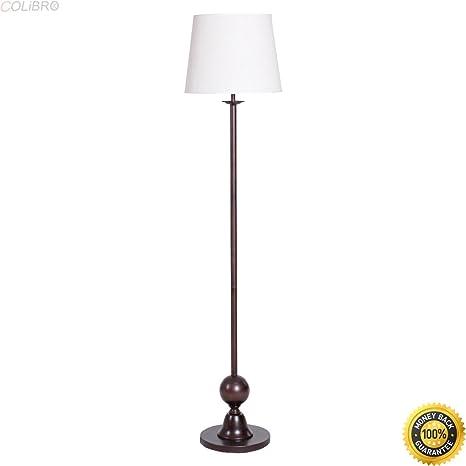 Colibrox 665 Copper Bronze Drum Shade Floor Lamp Lighting Home