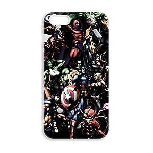 JiHuaiGu (TM) iPhone 5 5s funda los Vengadores superhéroes personalizado temático iPhone 5 5s funda OK4034