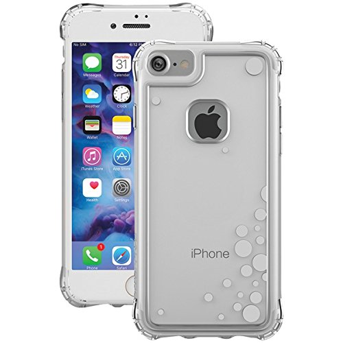 (Ballistic JE1738-B47N Jewel Essence Case for Apple iPhone 8/7/6S/6 -Clear/Silver)