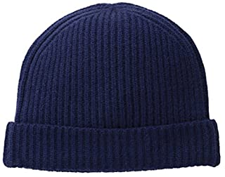 Williams Cashmere Men's Ribbed Hat, Midnight Navy, One Size (B00KQAIBMI) | Amazon price tracker / tracking, Amazon price history charts, Amazon price watches, Amazon price drop alerts