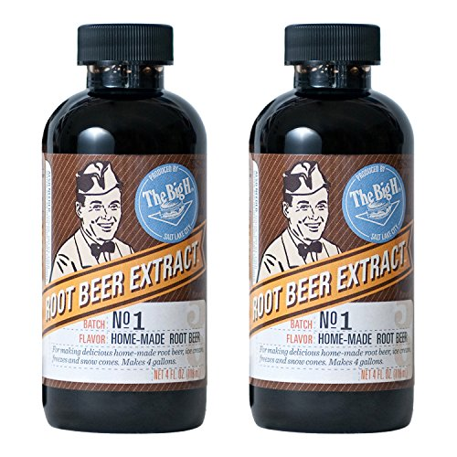 Hires Big H Root Beer Extract, Make Your Own Root Beer - 2 Pack (The Big H Root Beer Extract compare prices)