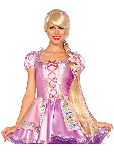 Leg Avenue Women's Rapunzel Wig, Blond, One Size