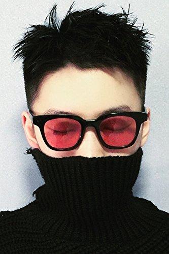 Right zhilong Dress up Tide Brand Men's Sunglasses Color Film